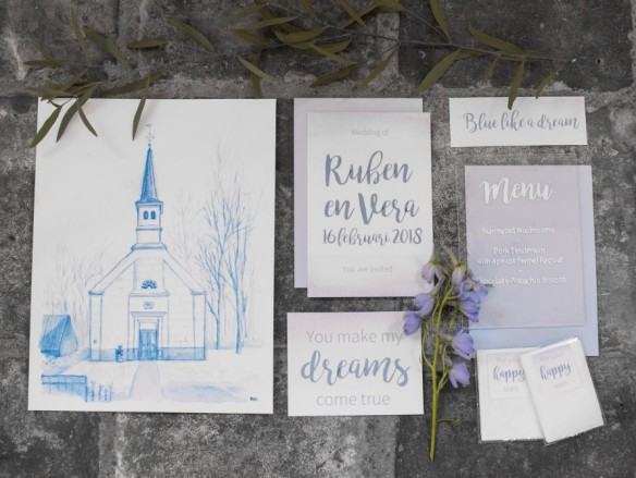 styled shoot blue like a dream