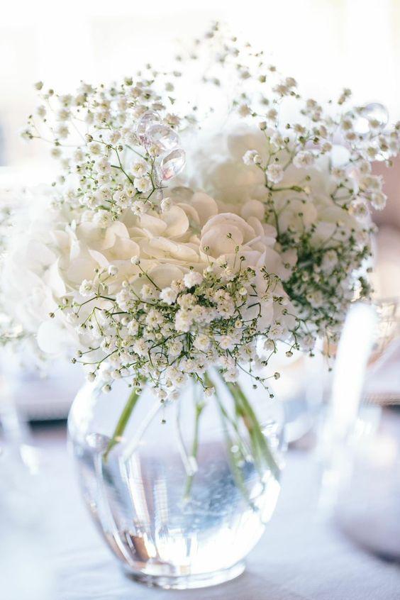 tafelbloemen trouwen