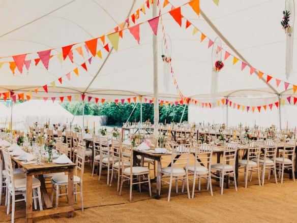 Tips voor bruiloft decoratie