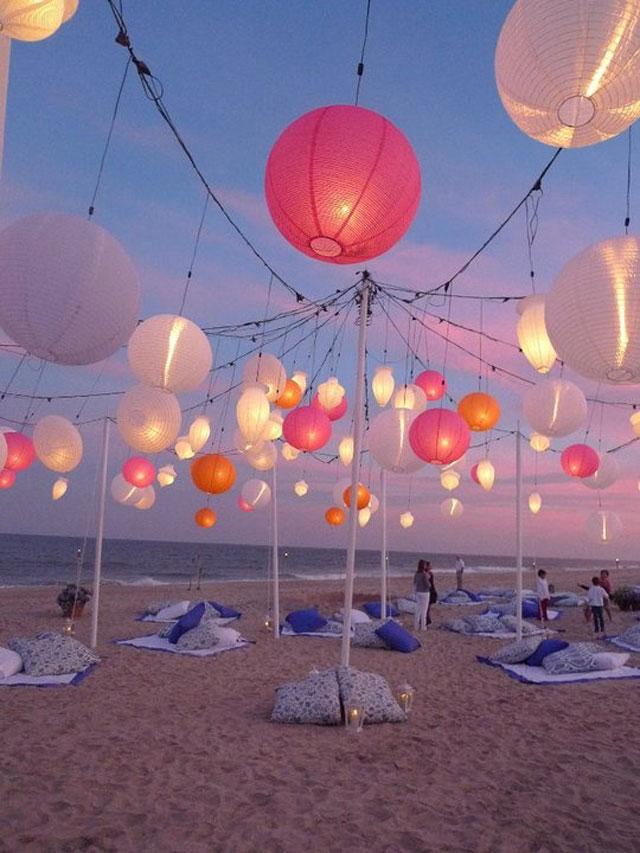Decoratie voor trouwen op het strand - Decoratie eenvoudig voor het leven ...