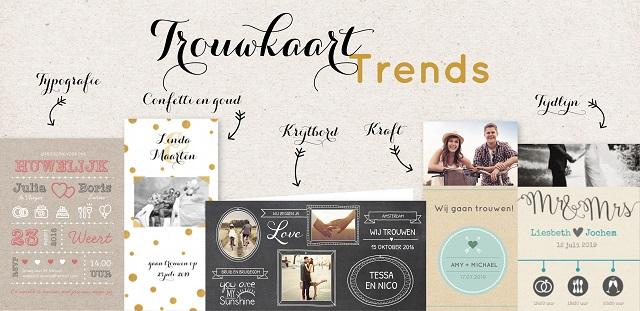 Genoeg Top 3 trends in trouwkaarten #MO06