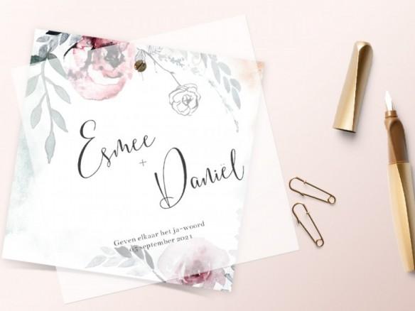 Vier tips voor een persoonlijke trouwkaart