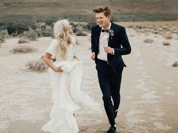 Wanneer fotoreportage trouwdag