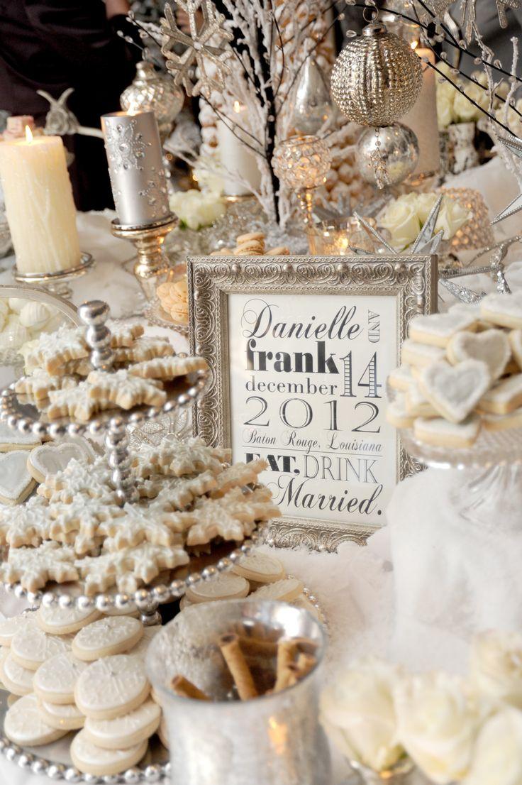 winter bruiloft