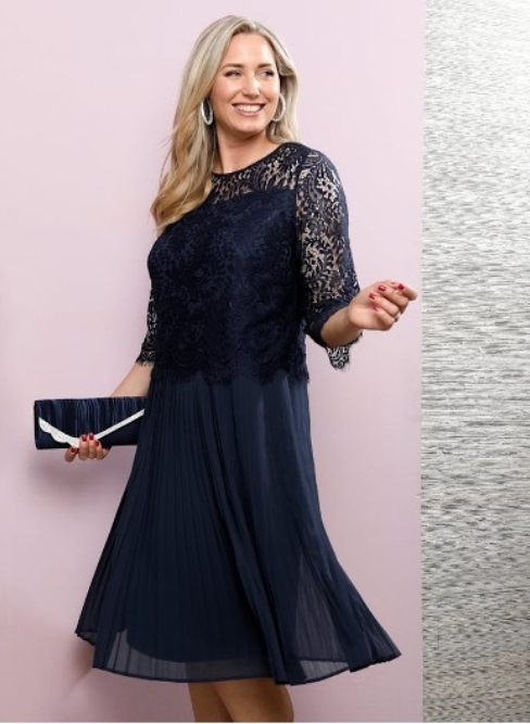 Miamoda Jurk in elegante 2-in-1-look Happy Size