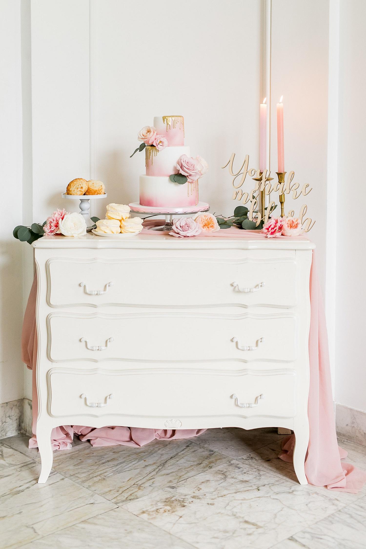 Sweet table op je bruiloft - Jasmijn Brussé Fotografie
