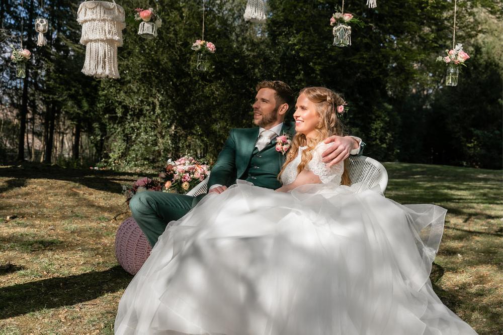 romantische lente bruiloft bij oud klooster 24