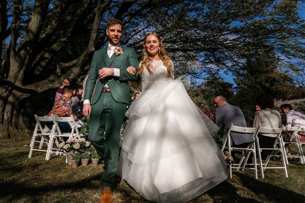 romantische lente bruiloft bij oud klooster 27