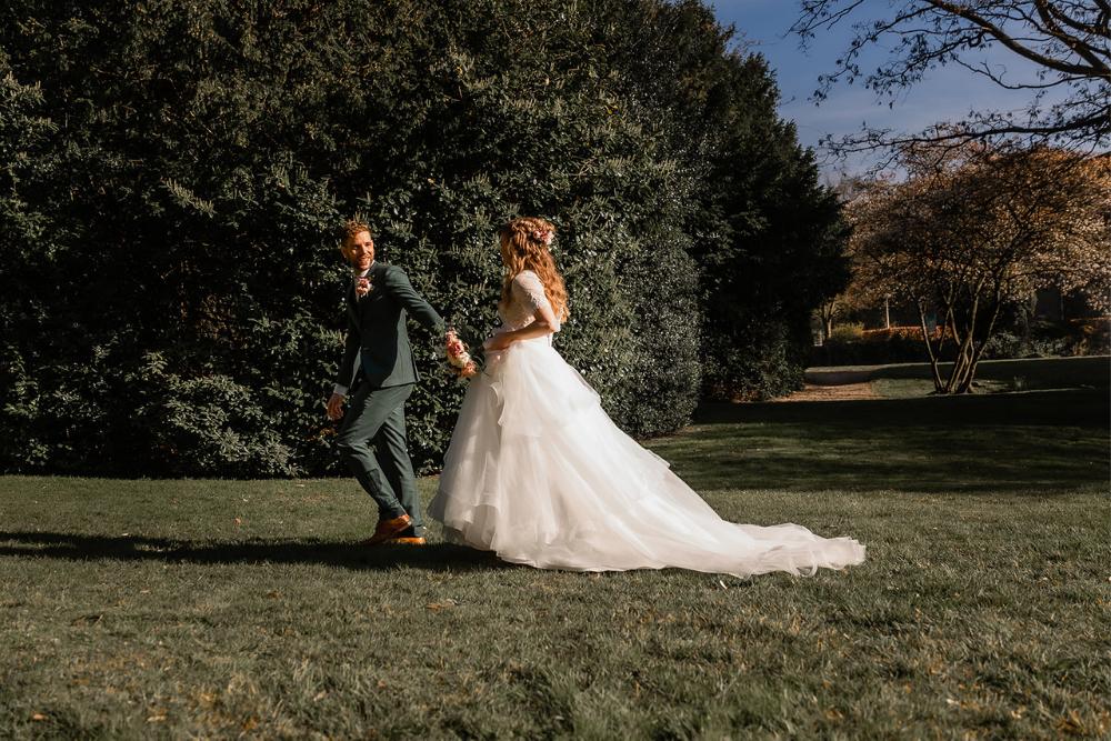 romantische lente bruiloft bij oud klooster 28
