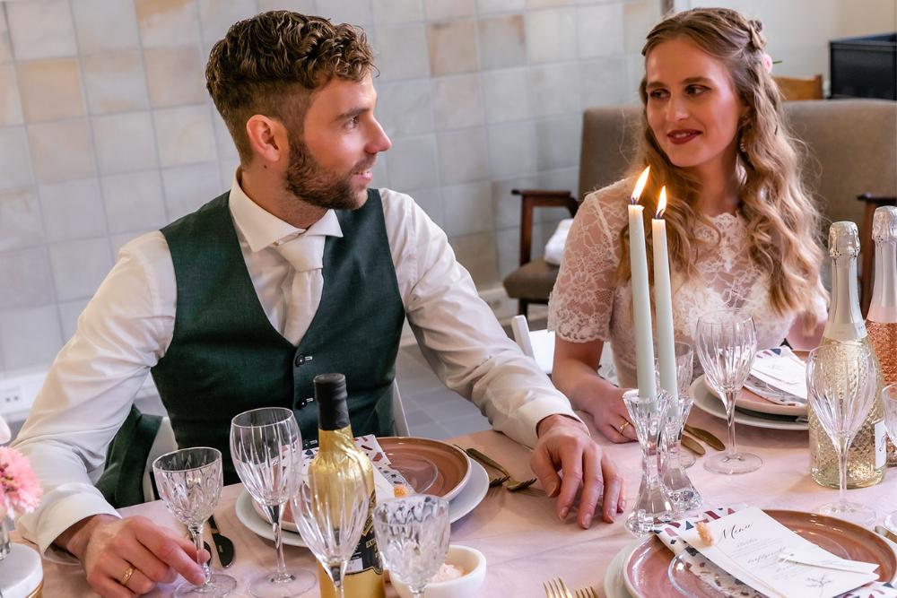 romantische lente bruiloft bij oud klooster 29