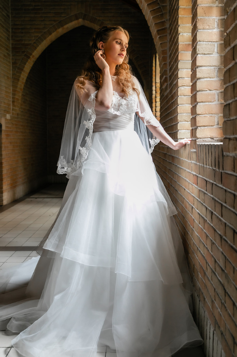 romantische lente bruiloft bij oud klooster 46