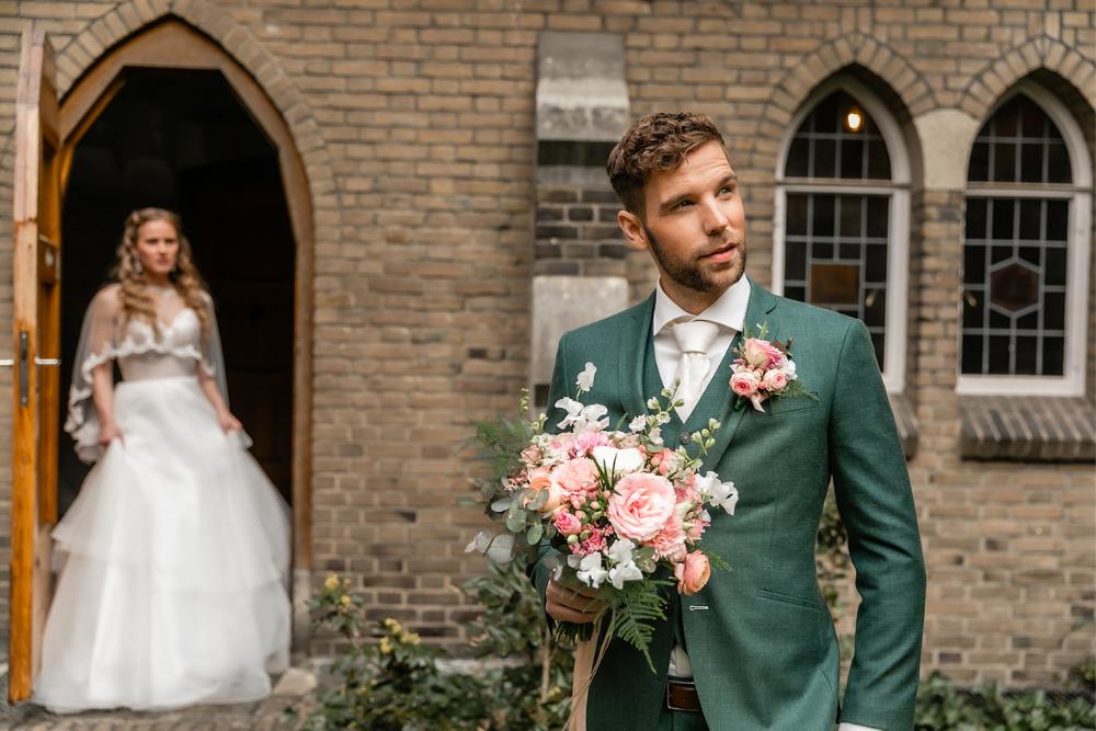 romantische lente bruiloft bij oud klooster 5