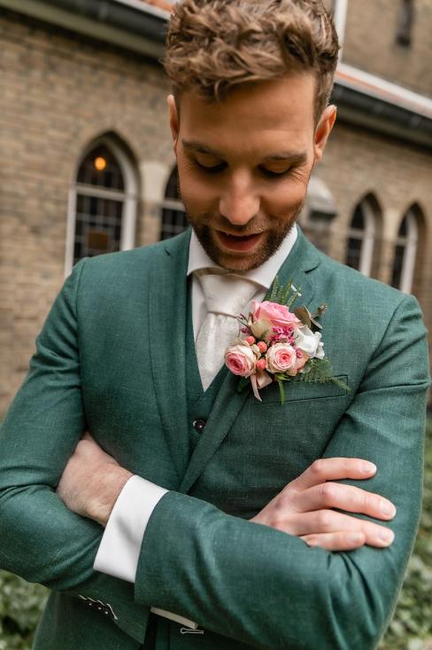 romantische lente bruiloft bij oud klooster 51