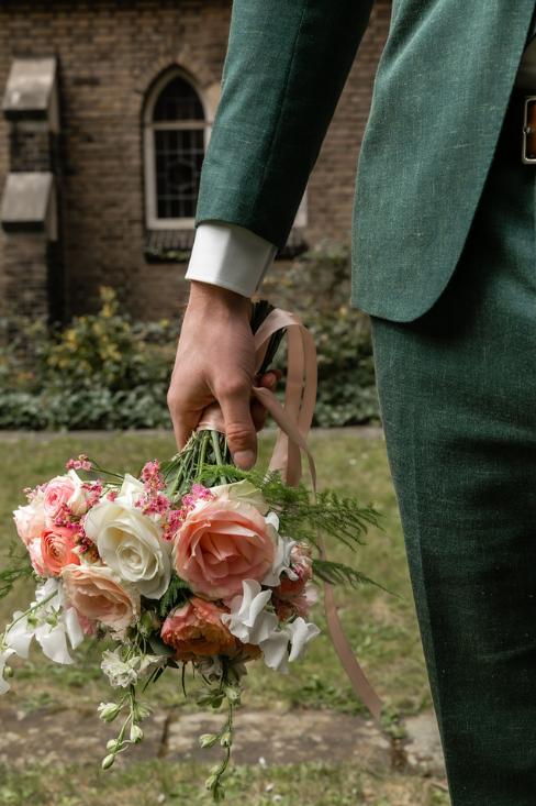 romantische lente bruiloft bij oud klooster 57