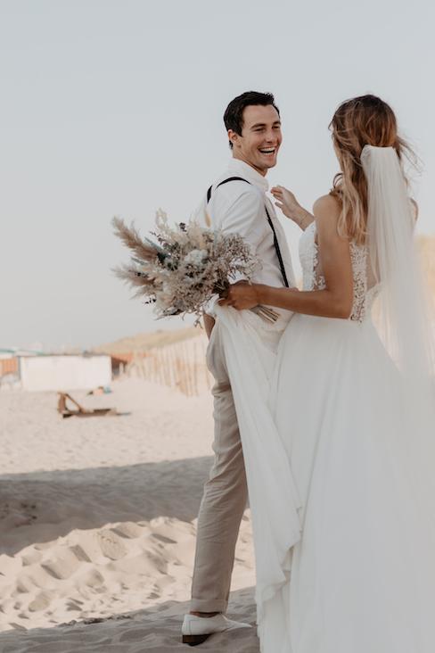 wanneer elkaar voor het eerst zien bruiloft - Iris Akkerman
