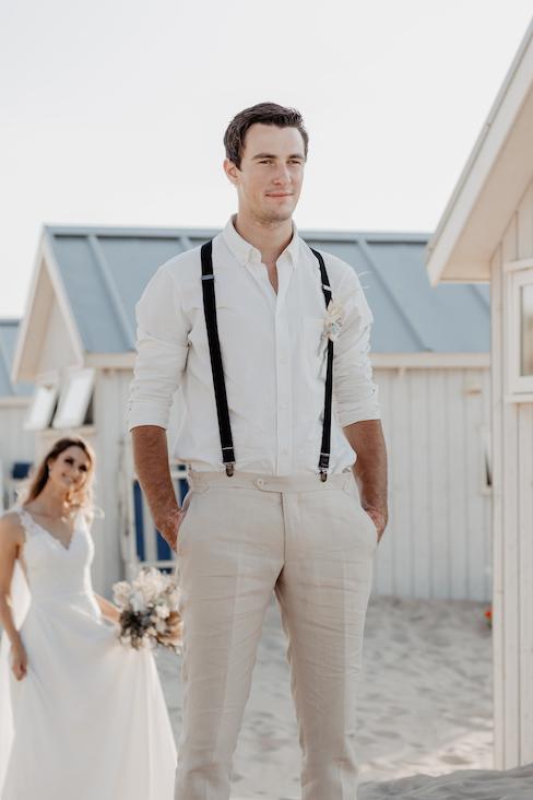 wanneer elkaar voor het eerst zien bruiloft first look - Iris Akkerman
